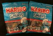 Haribo The Smurfs Gummi Gummy Candy {lot Of 2 Bags}