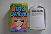 Vintage Old Maid Card Game - Jumbo Cards 2002 New From Playmore