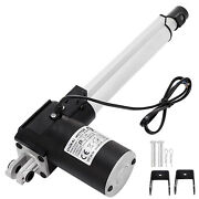 6 Inch Stroke Linear Actuator 6000n/1320lbs Pound Max Lift 12v Volt Dc Motor