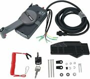 Remote Control Box Right Hand Side Mount 10 Pins Key Switch For Yamaha 703-48207