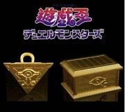 Rare Golden Chest Thousand-year Puzzle Set Yu Gi-gi King Duel Monsters 1/1