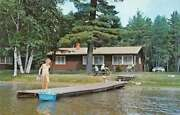 Boulder Junction Wisconsin Dairymen's Country Club Pier And Cabin Pc Aa41437