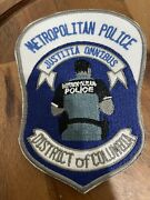 """D.c Metropolitan Police """"back The Blue"""" Novelty Patch - District Of Columbia"""
