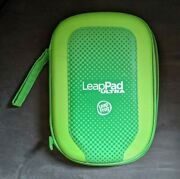 Leap Frog Leap Pad Ultra Case Only Green Orange Carrying Cover For Games 7