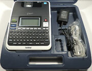 Brother Pt-2730 Thermal Barcode Label Maker Printer Portable + Pc Connectable