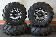 Defender Hd5 25 Mud 589 Atv Tire And Hd3 M Wheel Kit Made In Usa Can1ca