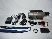 Sony Pal Ccd-trv66e Stereo Hi8 8mm Video8 Camcorder Vcr Player Video Transfer