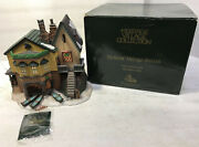 Dept 56 Dickens Heritage Village Series The Grapes Inn 5th Edition 1996 57534