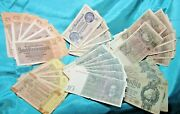Set Of German Wwii Paper Currency, From Hoard U Get 1, 2,5,10, 20, And 50 Marks