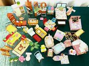 Fisher Price Loving Family Dollhouse Twin Time Furniture Big Lot Kitchen Bedroom