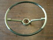 Nos Oem Chevrolet 1965 1966 Impala Steering Wheel Two Tone Green Ss Chevy