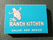 Matchbox - Ranch Kitchen Gallup Nm Navajo Rugs Indian Crafts