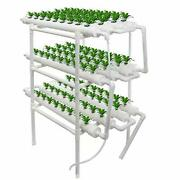 Hydroponic Growing System Kit With 108 Net Pot Holes Includes Water Pump With