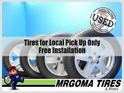 Set Of 4 Wheels Jeep 17x6.5 Used Rims + 235/55/17 Continental And Michelin 6.5x17