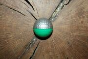 Vintage Green And Silver Ping Eye Golf Ball Must See Super Rare