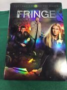 Fringe The Complete Second 2 Season Dvd, 2010, 6-disc Set Free Shipping