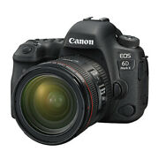 New Canon Eos 6d Mark Ii Dslr Camera With Ef24-70mm F4l Is Usm Lens