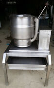 Groen Tbd/7-20 Tilting Steam Jacketed Kettle On Stand 20 Qt Soup Electric