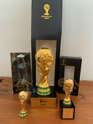 Fifa World Cup 3 Trophys Brazil 2014 Final Germany-argentina+3 Cups/mugs+ticket