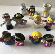 Lot Of 11 Fisher Price Little People Princess Figures Plus Pony,sarah Lyn