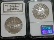 2002 W 1 West Point Bicentennial Commemorative Silver Dollar Ngc Pf69 Uc