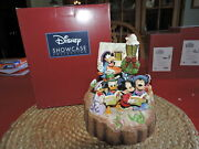 Jim Shore Disney Traditions Holiday Harmony Carved By Heart Fab Six Excel Cond