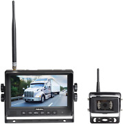 Haloview Mc7108 Wireless Rv Backup Camera System 7and039and039 Monitor Built In Dvr Rear