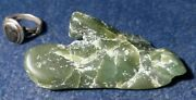 Apple Nephrite / Jade From Wyoming - Polished Rough Specimen - 62 Grams