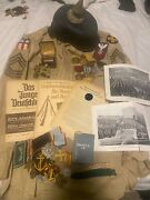 Original Ww1 Wwi And Ww2 Wwii Lot Grouping American German And British
