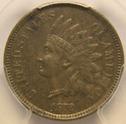 1872 1c Indian Cent Shallow N, Pcgs Xf-45, Problem-free Choice Extra Fine
