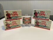 1951 Topps Red Back Wax Pack 1¢ + All 4 Waves 2021 1951 Topps Blake Jamieson