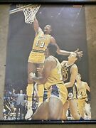 Rare 1970 Wilt Chamberlain Los Angeles Lakers Poster Si Sports Illustrated