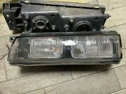 Nissan Silvia S13 Genuine Oem Square Headlights Lamps Set Car Parts From Japan
