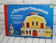 Vintage Book A Victorian Dollhouse Fold Out Pop Up 3d Real Doll House Activity