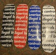 Brand New Supreme Illegal Business Controls America Deck Set Unwrapped