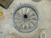 Mg Tc Mg Ta 19 Inch Wire Wheel Rolled Rim Outer Laced