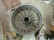 Mg Tc Mg Ta 19 Inch Wire Wheel Rolled Rim Center Laced