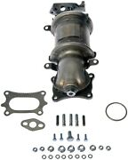 Catalytic Converter With Integrated Exhaust Manifold Front Dorman 674-145