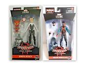 Marvel Legends Spiderman Into The Spiderverse Gwen Stacy And Miles Morales 6 Inch