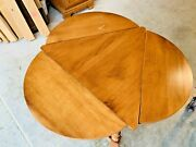 Beautiful Tell City Early American Colonial 3 Drop Leaf Side End Table L@@k
