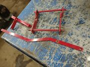 Wheel Horse 520-h Tractor Mower Snow Plow Blade Extension Adapter Brackets