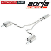 Borla 140588 Atak Cat Back Exhaust System For 2015-2017 Ford Mustang 3.7l V6