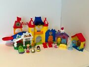 Fisher Price Little People Day At Disney Magic Kingdom Castle Playset Minnie