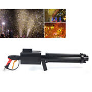 New Handheld Led Co2 Confetti Gun Color Paper Jet Gun With Strong Co2 Effects