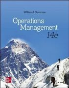 Operations Management By William J Stevenson 9781260238891   Brand New