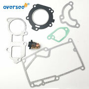 Thermostat 6e5-11241 Gasket Kit For Yamaha 2t 3hp Outboard 6l5-45113 11181 11193