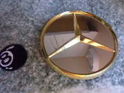 One Mercedes Benz 450 Sl 500 Sel Gold Lug Nuts Cover 6 Wheel Center Cap 420 Sel