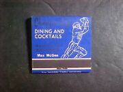 Nice Vintage Left End Restaurant Full Matchbook Unstruck Max Mcgee Packers