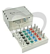 Dental Implant Twist Stopper Drills Kit 30 Pieces Accurate Depth Control