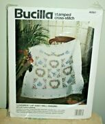 Lap Quilt/wall Hanging Bucilla Lovebirds Stamped Cross Stitch Sealed Complete